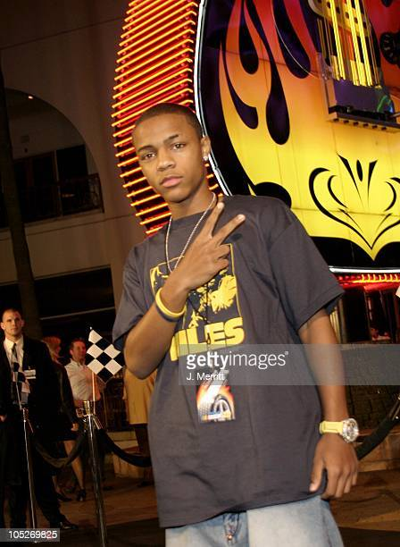Bow Wow during NASCAR 3D The IMAX Experience at Universal IMAX Theater in Universal City California United States