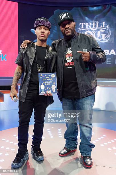Bow Wow interviews Bun B during his visit to BET's '106 Park' at BET Studios on November 12 2013 in New York City
