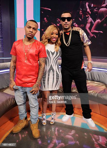 Bow Wow K Michelle and French Montana visit BET's '106 Park' at BET Studios on May 20 2013 in New York City