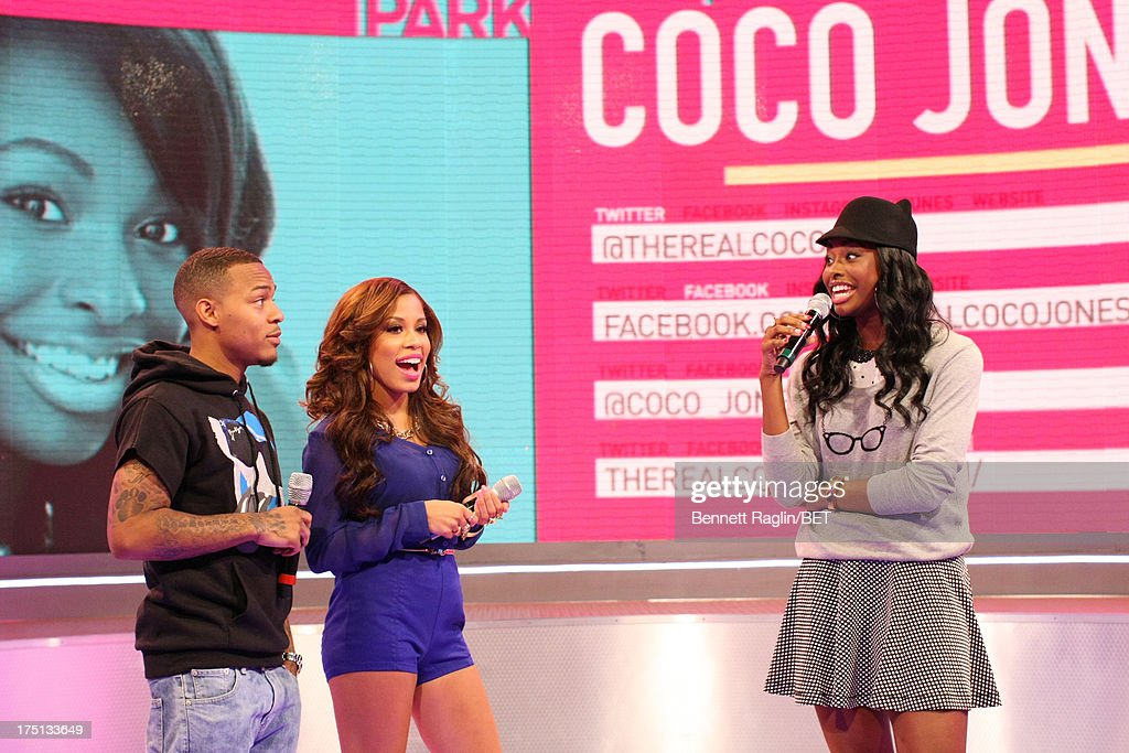 Bow Wow, Keshia Chante, and Coco Jones attend BET's 106 & Park at BET Studios on July 31, 2013 in New York City.