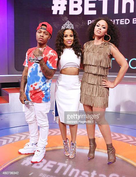 Bow Wow Keshia Chante and Elle Varner attend 106 Park at BET studio on June 16 2014 in New York City
