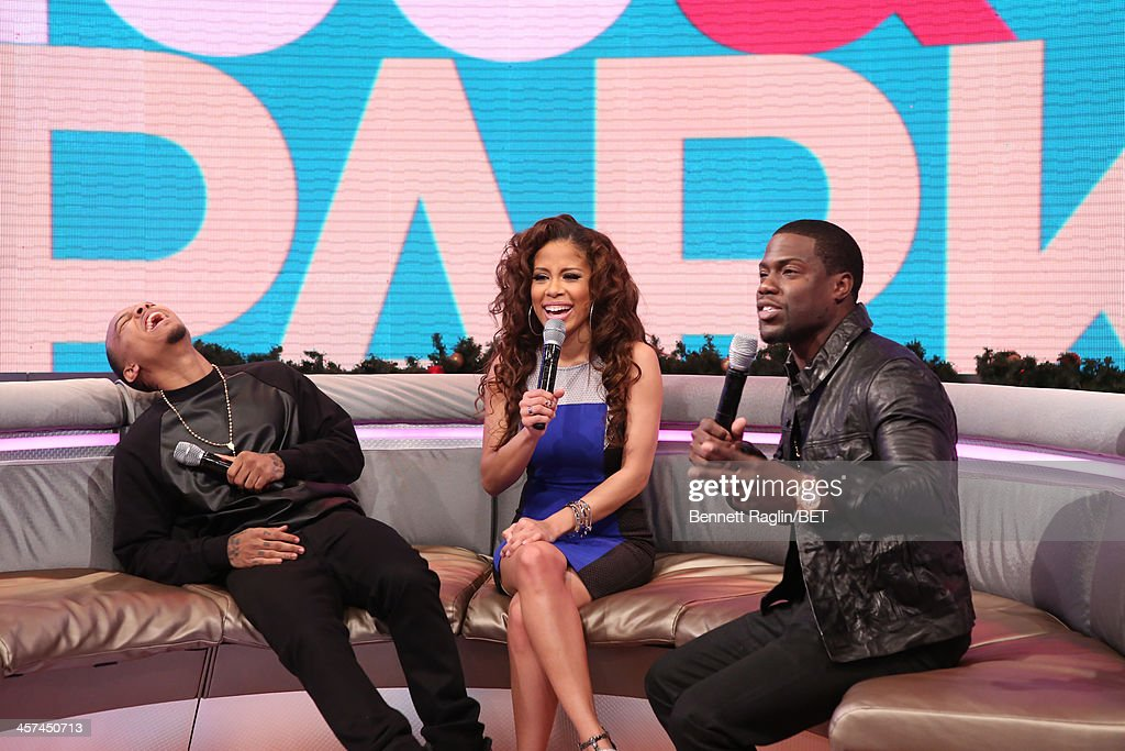 <a gi-track='captionPersonalityLinkClicked' href=/galleries/search?phrase=Bow+Wow+-+Rapper&family=editorial&specificpeople=211211 ng-click='$event.stopPropagation()'>Bow Wow</a>, Keshia Chante, and Kevin Hart attend 106 & Park at BET studio on December 16, 2013 in New York City.