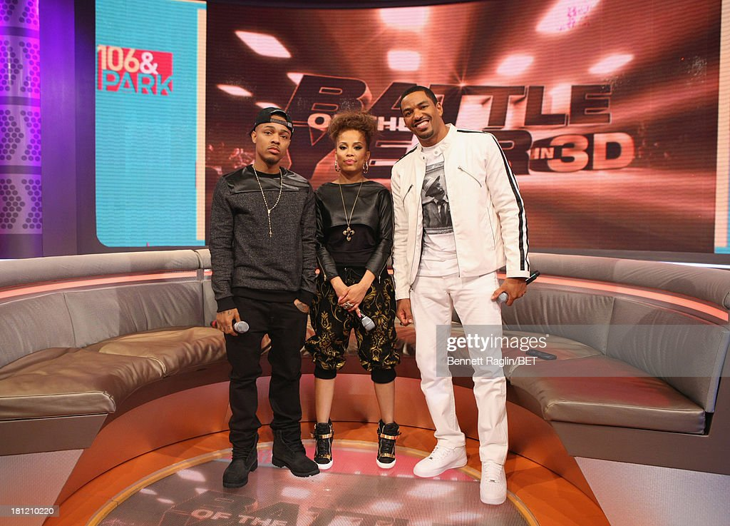 <a gi-track='captionPersonalityLinkClicked' href=/galleries/search?phrase=Bow+Wow+-+Rapper&family=editorial&specificpeople=211211 ng-click='$event.stopPropagation()'>Bow Wow</a>, Keshia Chante, and <a gi-track='captionPersonalityLinkClicked' href=/galleries/search?phrase=Laz+Alonso&family=editorial&specificpeople=2179533 ng-click='$event.stopPropagation()'>Laz Alonso</a> attend 106 & Park at 106 & Park Studio on September 18, 2013 in New York City.