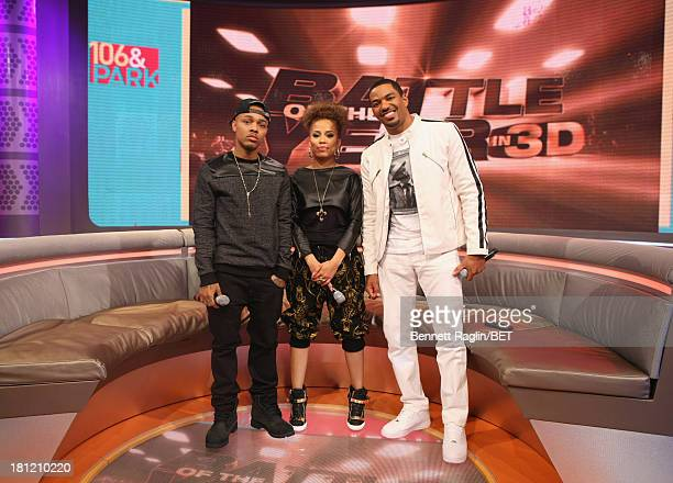 Bow Wow Keshia Chante and Laz Alonso attend 106 Park at 106 Park Studio on September 18 2013 in New York City