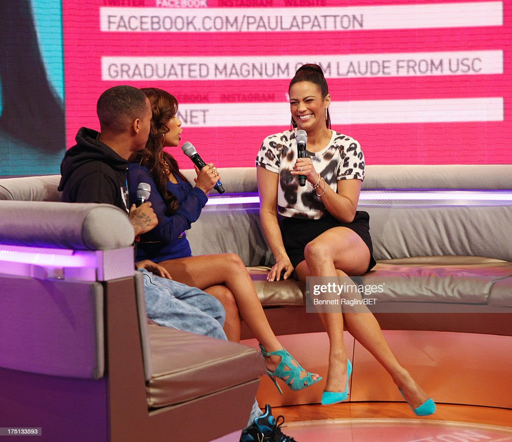 Bow Wow, Keshia Chante, and Paula Patton attend BET's 106 & Park at BET Studios on July 31, 2013 in New York City.
