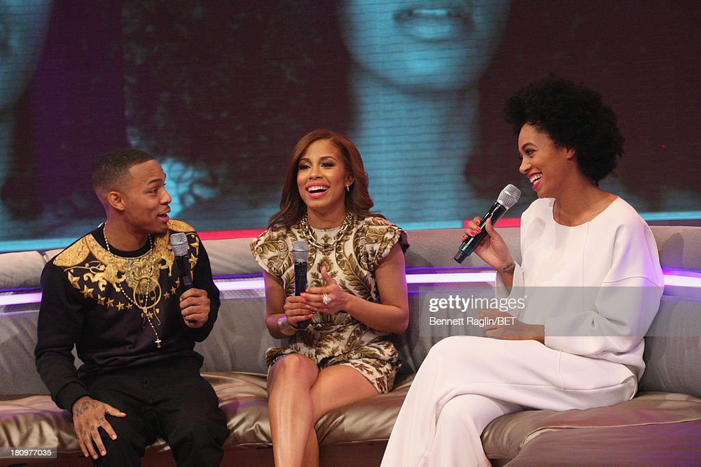 Bow Wow, Keshia Chante, and Solange Knowles attend 106 & Park at 106 & Park Studio on September 18, 2013 in New York City.