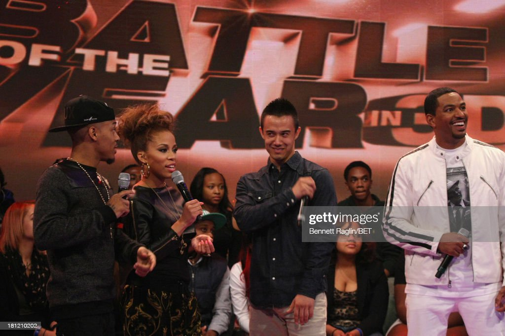 Bow Wow, Keshia Chante, B-Boy Vincanity and Laz Alonso attend 106 & Park at 106 & Park Studio on September 18, 2013 in New York City.