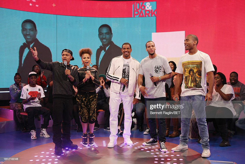 Bow Wow, Keshia Chante, Laz Alonso, Sammy Soto, and Sawandi Wilson attend 106 & Park at 106 & Park Studio on September 18, 2013 in New York City.