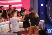 Bow Wow Miss Mykie and 50 Cent visit BET's '106 Park' at BET Studios on January 17 2013 in New York City