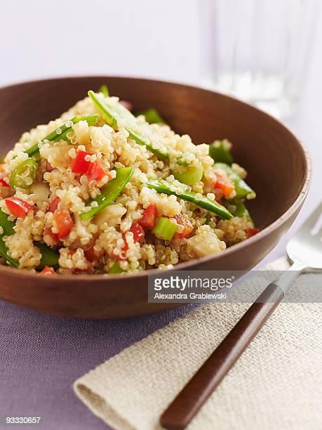 Bowl of Asian Quinoa Salad