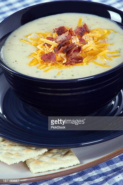 Bowl Of Baked Potato Soup