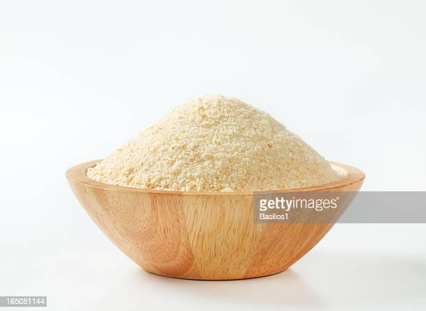 bowl of breadcrumbs
