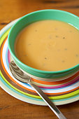 Bowl of butternut soup