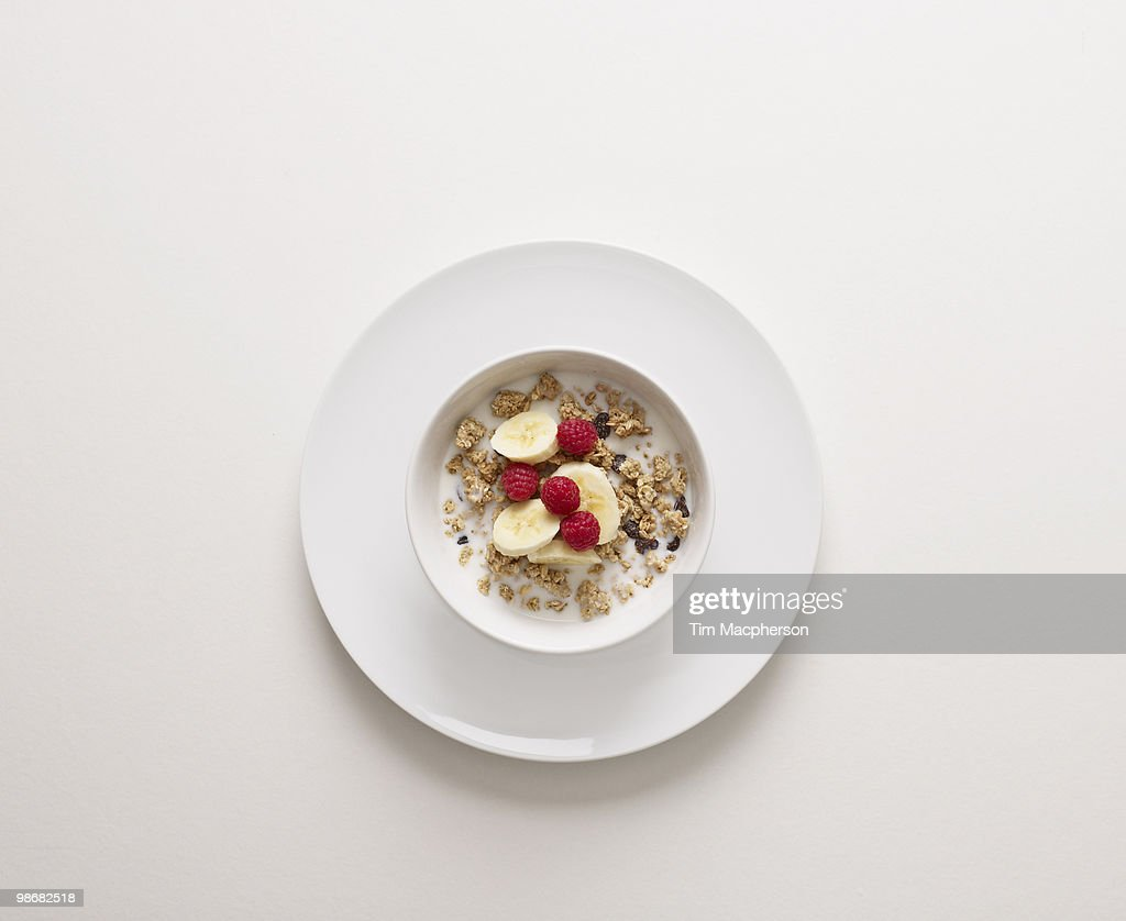 A bowl of cereal : Stock Photo