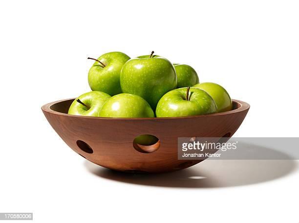 Bowl of Granny Smith Apples