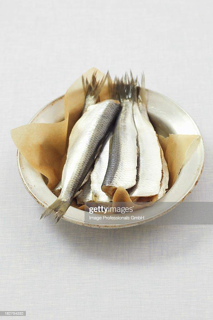 Bowl of herring