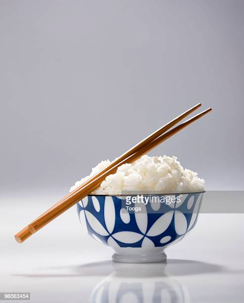 Bowl of Japanese rice