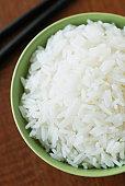Bowl of jasmine rice