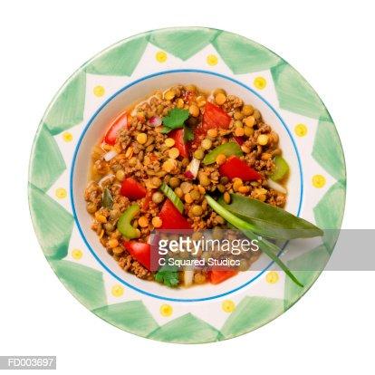 Bowl of Lentil Soup : Stock Photo