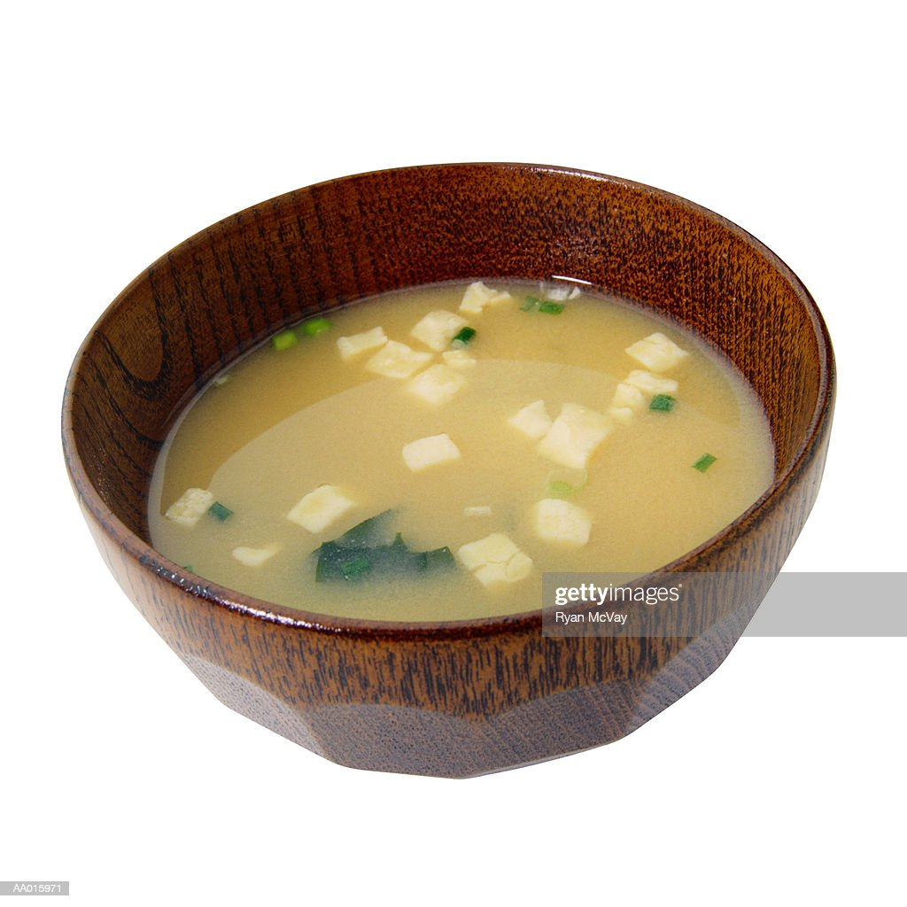 Bowl of Miso Soup : Stock Photo