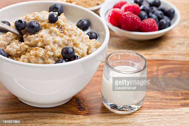 Bowl Of Oatmeal and Fixings