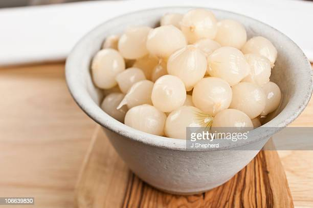 bowl of pickled onions