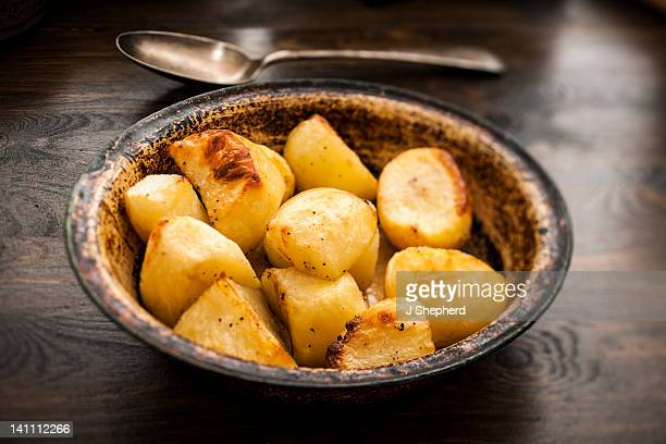 Bowl of roast potatoes