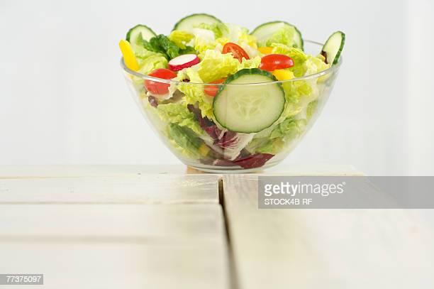 A bowl of salad