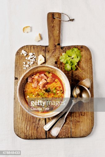 Bowl of Soup : Stock Photo