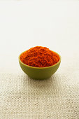 Bowl of Spanish paprika