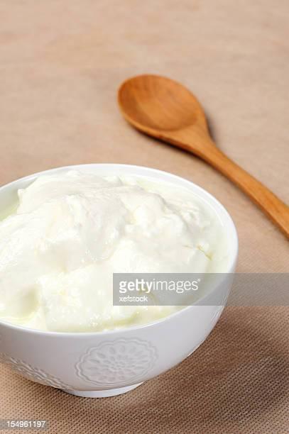 Bowl of yoghurt