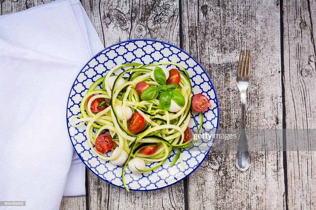 ZOODLES!! Zucchini has been reinvented to replace the pasta for still a great taste but without the carbs.