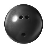 Bowling Ball Isolated