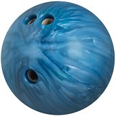 Blue Bowling Ball - Isolated