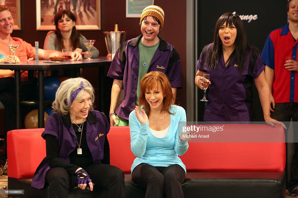 COUNTY - 'Bowling for Mama' - Reba, June and Cash vie to give Lillie Mae the very best birthday gift. But when her wish is for Reba to bowl for her league's opposing team, the competition gets less than friendly, on 'Malibu Country,' FRIDAY, FEBRUARY 22 (8:31-9:00 p.m., ET) on the ABC Television Network. REBA, MARC