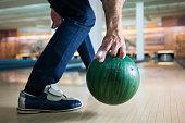 Senior's have fun while bowling