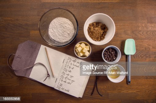 Bowls of ingredients for recipe