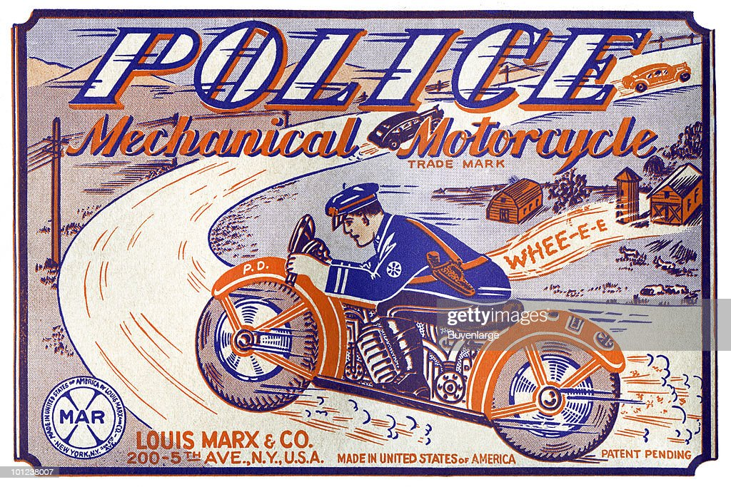 Police Mechanical Motorcycle
