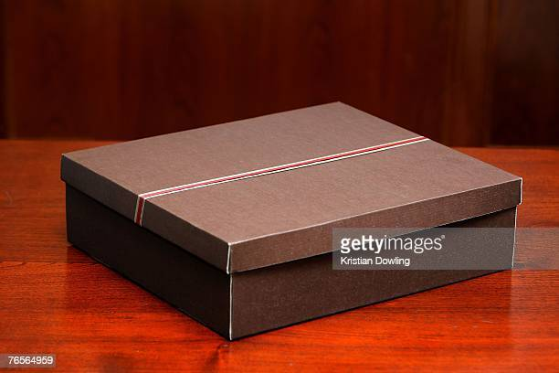 A box containing a gift to be presented to all 21 APEC leaders during the Asia Pacific Economic Cooperation forum on September 7 2007 in Sydney...