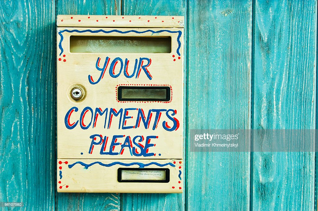 Box for the comments : Stock Photo