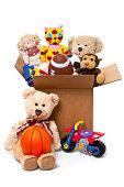 Box Full of Toys, Donations
