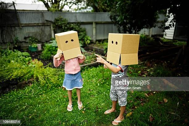 Box heads talking