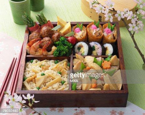 Box lunch : Stock Photo