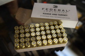 A box of 45 cal ammunition is offered for sale at Freddie Bear Sports on October 18 2012 in Tinley Park Illinois Facing a $2675 million fiscal 2013...