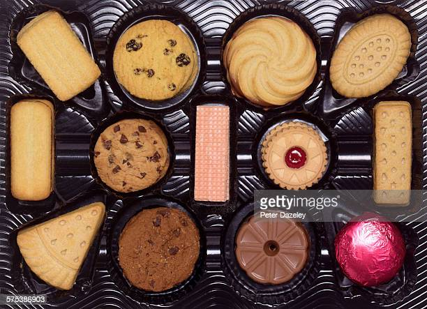 Box of assorted biscuits