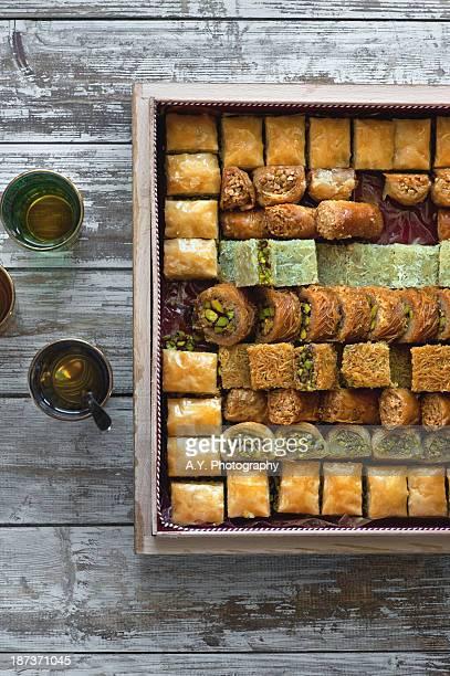 Box of baklava