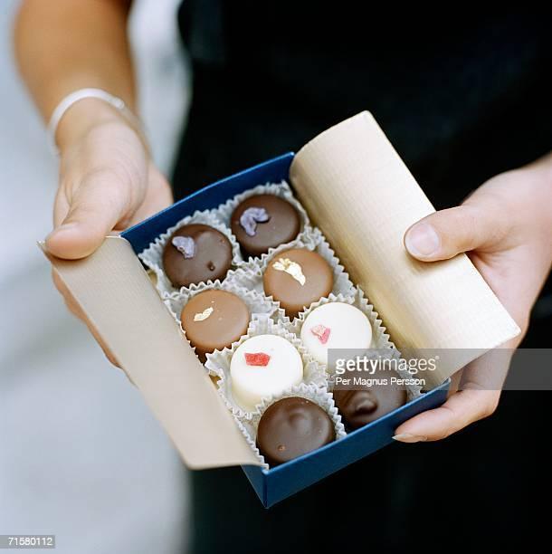 A box of chocolate.
