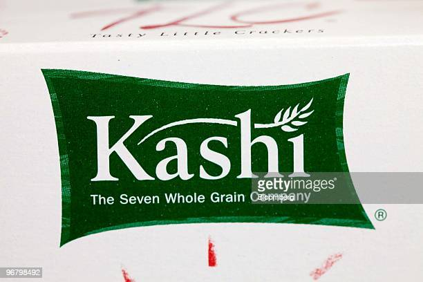 A box of Kellogg Co's Kashi Tasty Little Crackers sits on display at a Walgreen's store in New York US on Wednesday Feb 17 2010 Kellogg Co's Kashi...