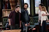 UNDATEABLE 'A Box Of Puppies Walks Into a Bar' Episode 309A Pictured David Fynn as Brett Chris D'Elia as Danny Brent Morin as Justin Bridgit Mendler...