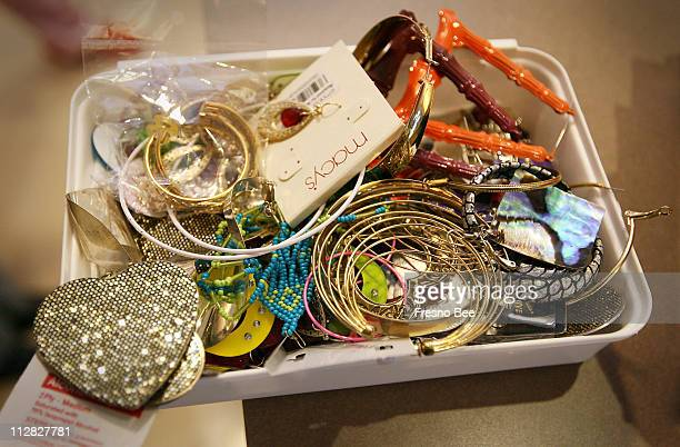 A box of various 'hooker earrings' is made available to any patient who needs a pair where a special group of women taking treatment for metastatic...